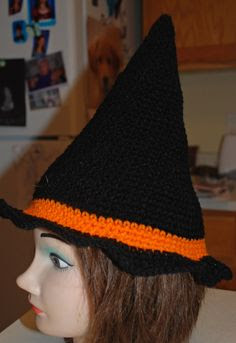 Free crochet pattern - Crochet Creative Creations: Crochet Witch Hat