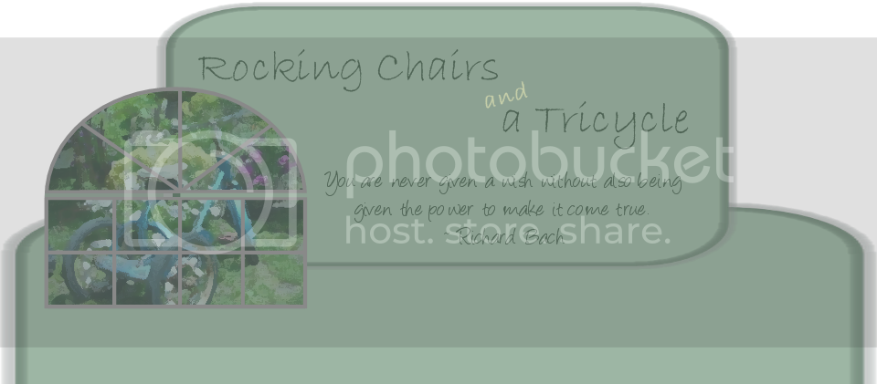Rocking Chairs and a Tricycle