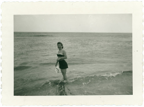 Girl in surf 2