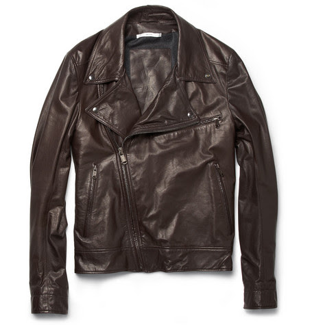 Yves Saint Laurent Lightweight Leather Biker Jacket