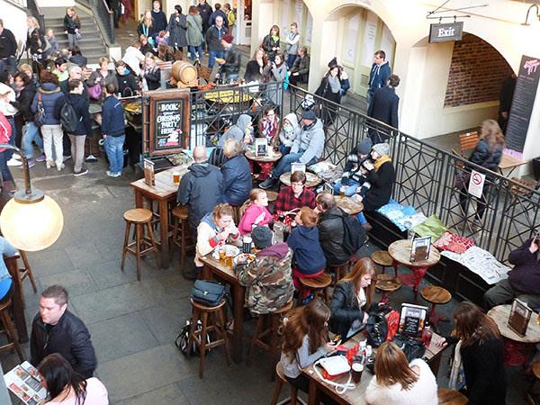 déjeuner à Cavent Garden