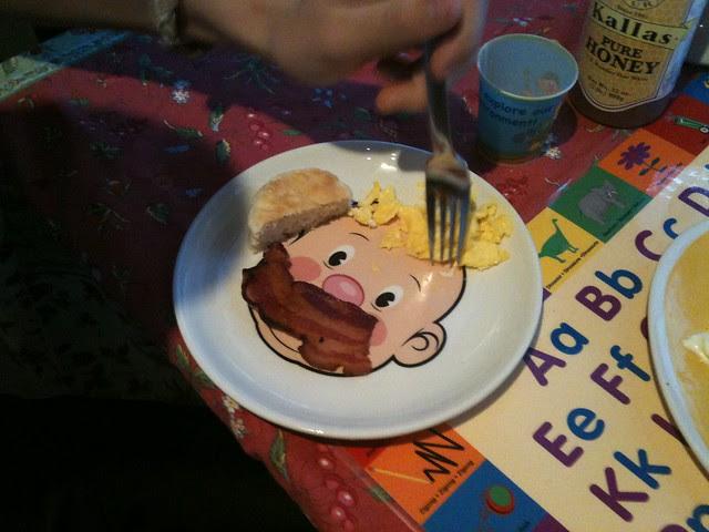 drew's plate