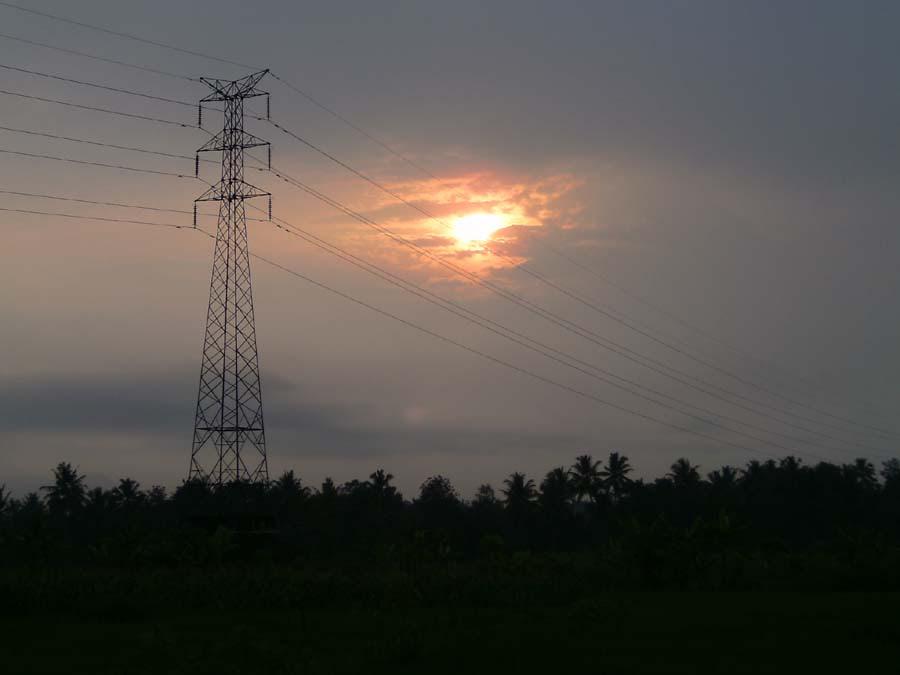 distribusi jaringan listrik PLN