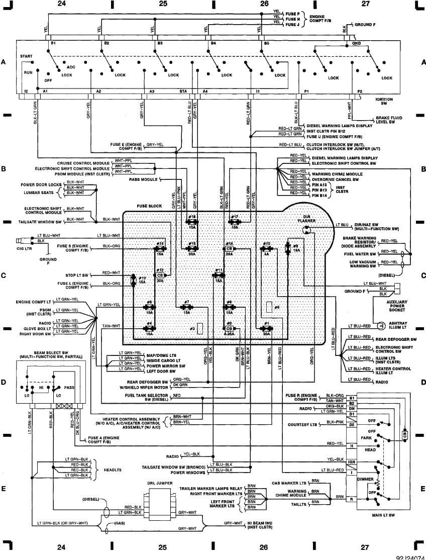 1995 Ford F 150 Wiring Schematics Gota Wiring Diagram