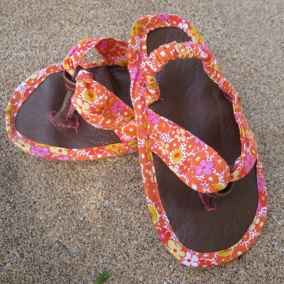 Flip Flops-PDF Tutorial & Pattern in 4 Sizes