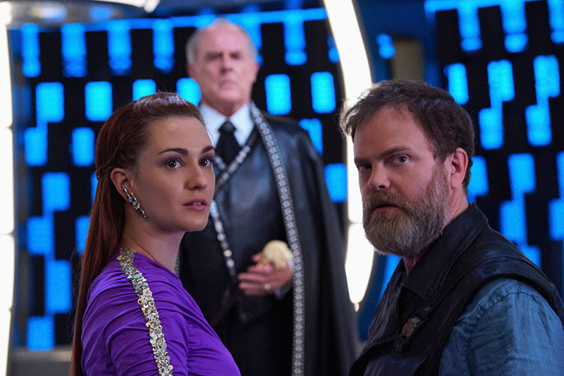 DSC, Discovery, Harry Mudd, Rainn Wilson, Intervista, TG TREK Star Trek News Novità Notizie