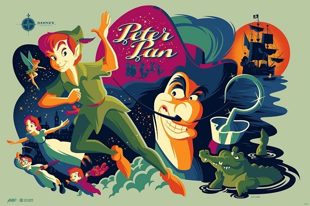 Peter Pan by Tom Whalen 607