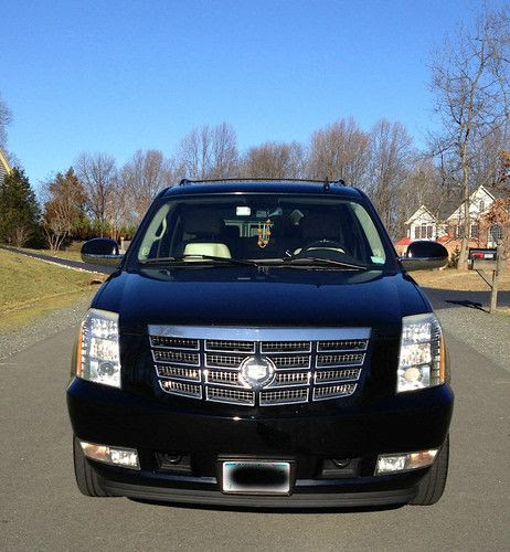Purchase used 2007 Black Cadillac Escalade Base Sport Utility 4Door 6.2L in Hanover, Maryland