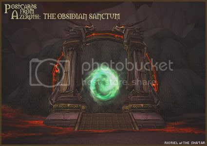 Postcards of Azeroth: Obsidian Sanctum, by Rioriel Ail'thera
