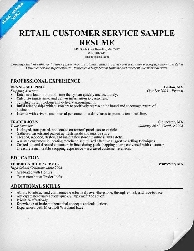 Customer Service Resume Examples  ResumeCompanion