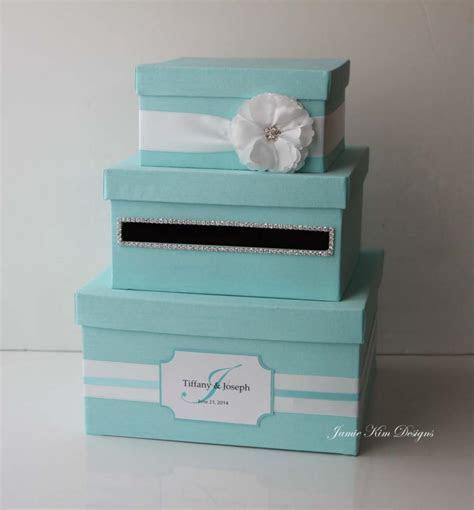 Wedding Card Box, Tiffany Box, Money Box  Custom Made