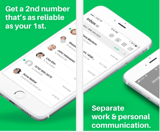 25 Android and iPhone Second Phone Number Apps for Business Only Calls - Sideline