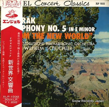 SCHUCHTER, WILHELM dvorak; stmphony no.5 in e minor from the new world