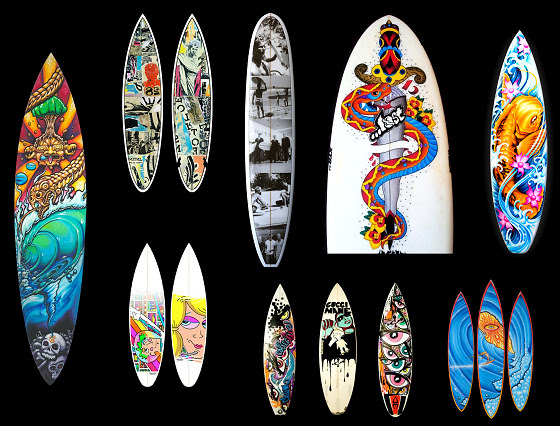 The Best Surfboard Painting Designs Ever We Are Surfers