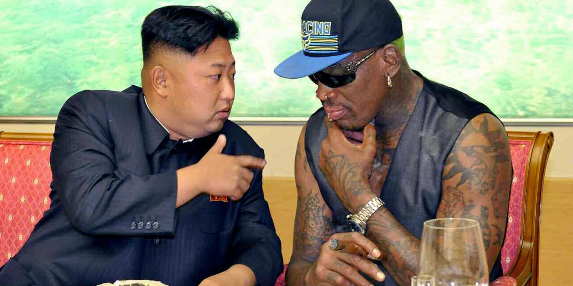 Dennis Rodman Takes Trip To North Korea