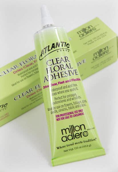 Atlantic Brand Clear Floral Adhesive 1.55 oz.
