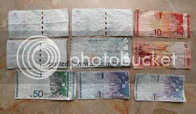 wang rm50 tidak tahan @ isu hangat