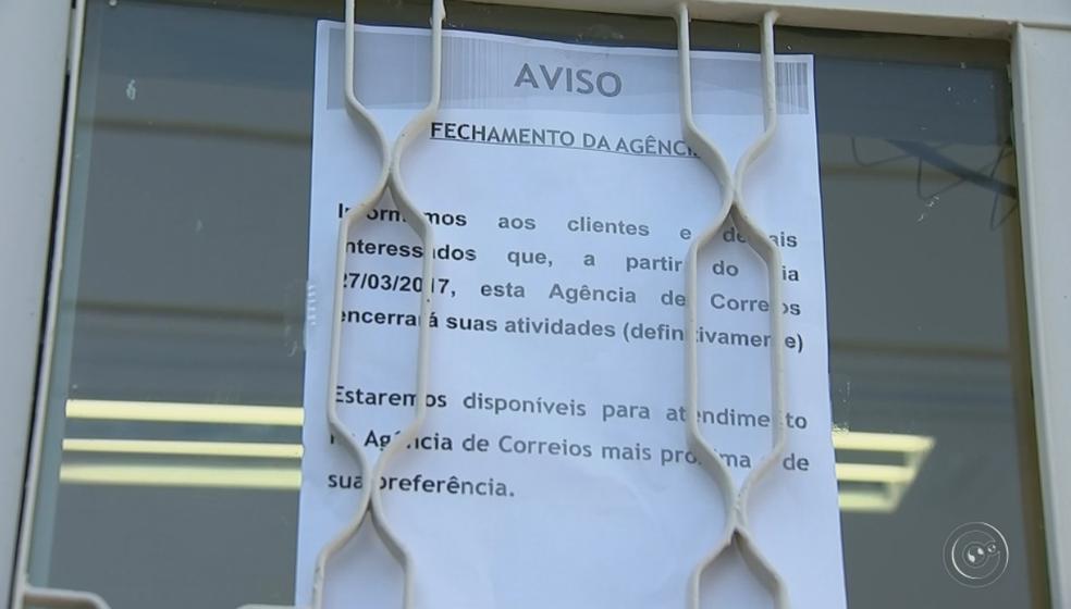 Duas agências de Bauru e uma de Botucatu vão fechar (Foto: Reprodução/TV TEM)