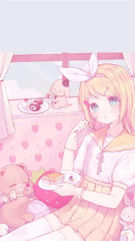 cute pink anime wallpaper impremedianet