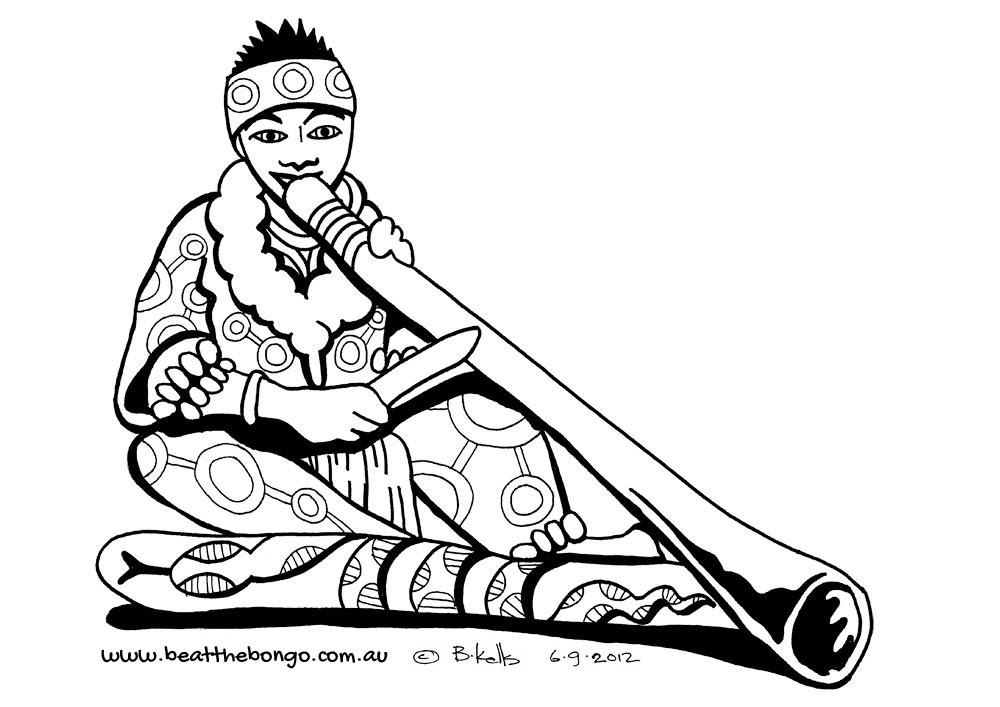 didgeridoo clipart 16