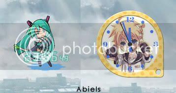 Vocaloid Clock