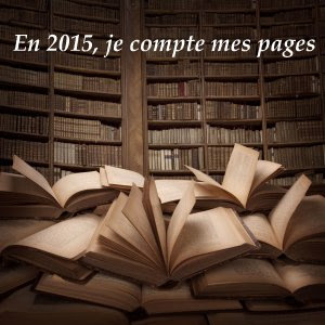 ". Challenge "" En 2015, Je compte mes pages"" ."