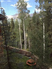 View from my hotel room in Telluride