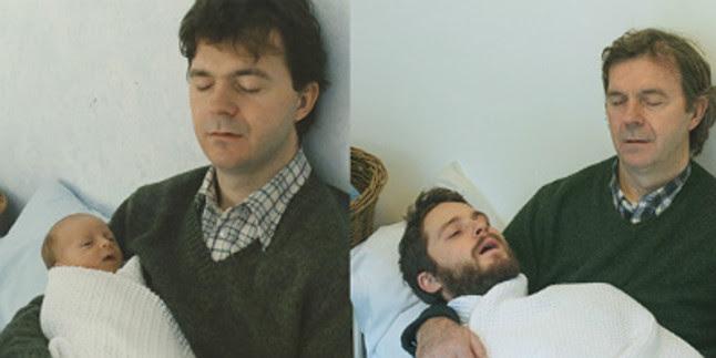 Joe, durmiendo junto a su padre, Geb.