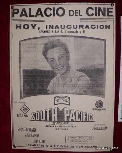 Recorte de prensa inauguración Palacio del Cine