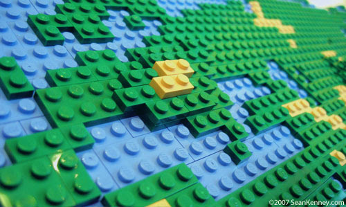 LEGO Map of the World