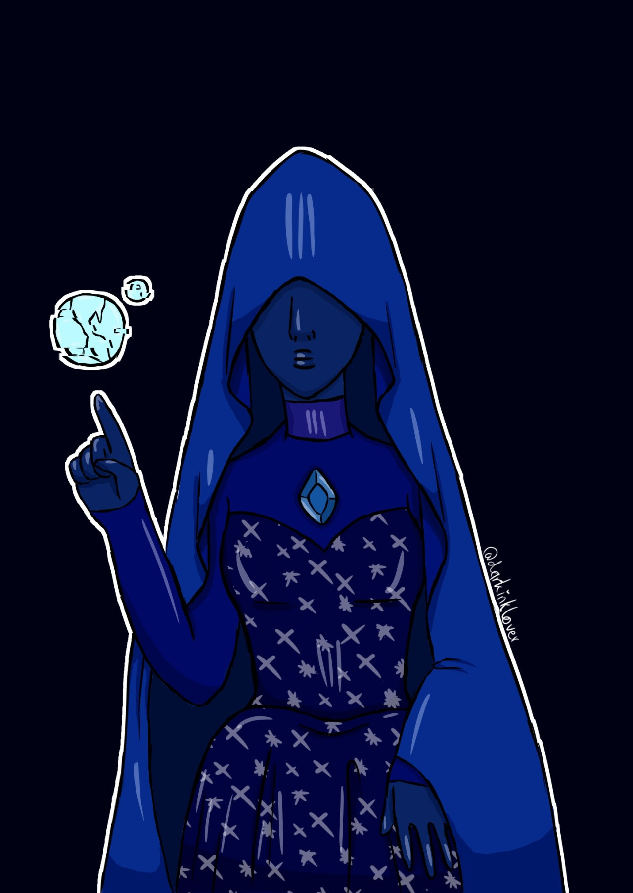 blue diamond [[MORE]]probably going to delete this account once and for all ●︿● bye