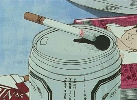 cigarette grunge  anime image  pinterest