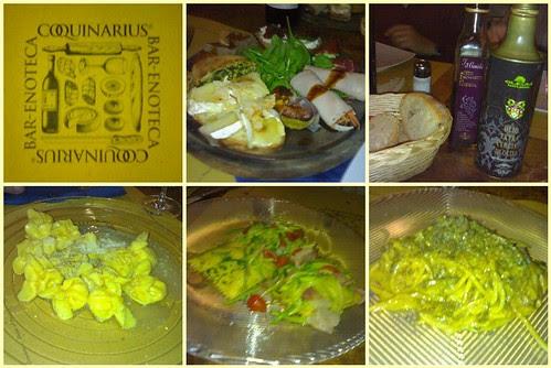 Cena en Coquinarius