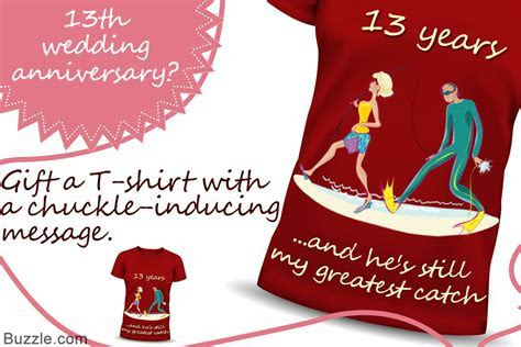 An Amazing Range of 13th Wedding Anniversary Gift Ideas