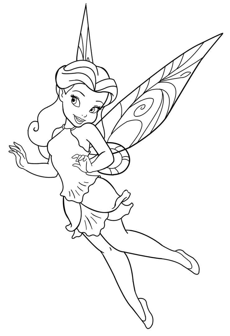 Disney Fairy_ Rosetta by MercuriusNeko on DeviantArt