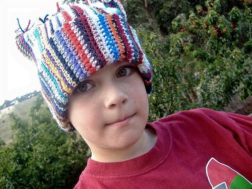 accidental hat on sam