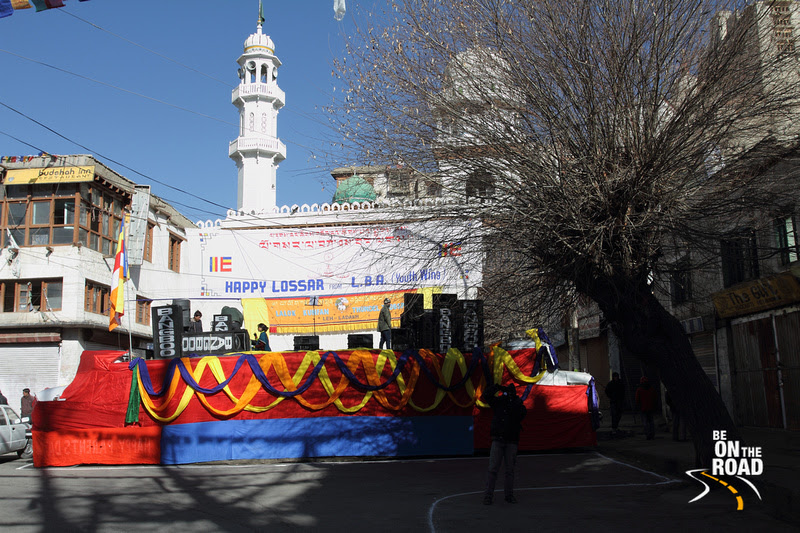 Losar (Ladakhi New Year) being celebrated at Leh