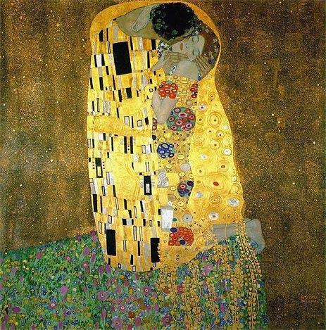 The Kuss by Gustav Klimt