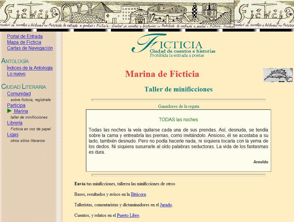 Ficticia, Cabecera