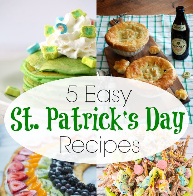Jonahbonah: 5 Easy St Patrick's Day Recipes {and Kids Crafts}
