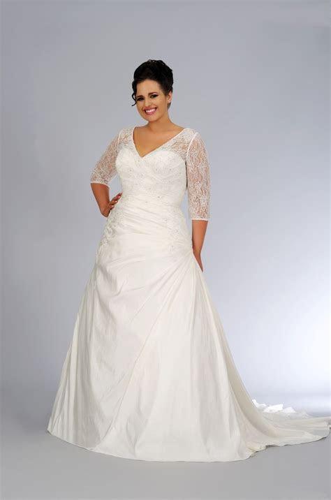 Bridal Lace Plus Size Wedding Dresses