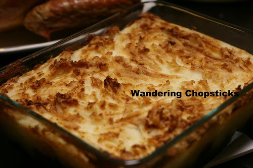 English Cottage Pie with Ground Beef and Mushrooms 9