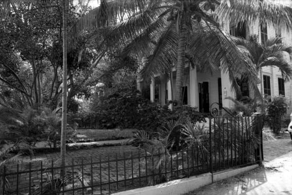 View looking toward an unidentified residence - Key West, Florida