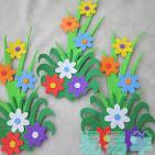 Aliexpress.com : Buy Nursery decoration 3d Daffodils eva sticker ...
