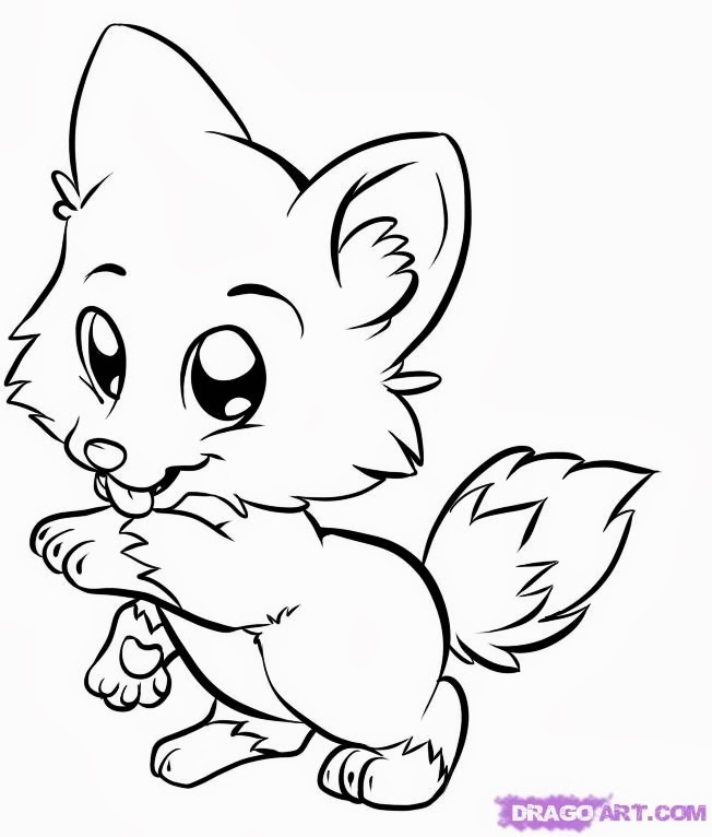 48 Printable Coloring Pages Baby Animals Pictures