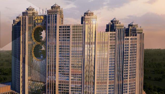 """La noria más alta del mundo está en China y tiene forma de """"ocho"""""""