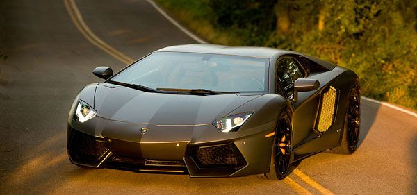 A 2013 Lamborghini Aventador LP 700-4 Coupe that will be featured in TRANSFORMERS 4.