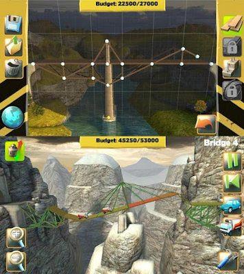 Bridge Constructor, un genial juego de construcción de puentes