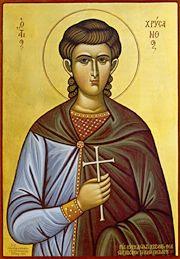 ST. CHRYSANTHUS Martyr