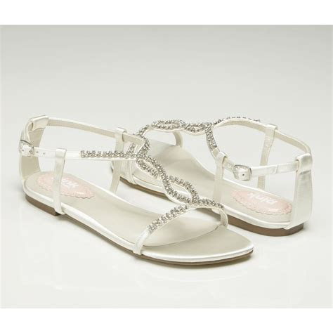 Flat Wedding Sandals   Heaven by Pink Paradox   Wedding